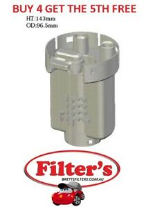 FUEL FILTER FOR TOYOTA ECHO 1.3L 2NZFE 1NZFE 1.5L NCP 10 12 13 1999 - 2005
