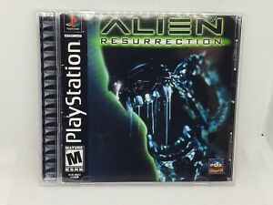 Alien Resurrection PS1 Reproduction Case NO DISC - FAST SHIPPING!!