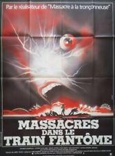 movie poster THE FUNHOUSE Original Grande  47 x 63 in