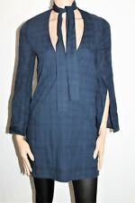 Staple Brand Navy Bell Sleeve Choker Dress Size 10 BNWT #SW118