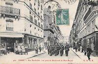CPA 75 PARIS Ve RUE BERTHOLLET VUE PRISE DU BOULEVARD DE PORT ROYAL