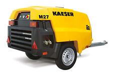 NEW Kaeser M27 Towable Diesel Air Compressor Tier IV Final Kaeser M27