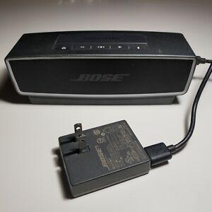 Bose SoundLink Mini Bluetooth Speaker W dock & charger. Tested Works Sounds Gr8