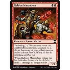 4x MTG Keldon Marauder NM - Eternal Masters
