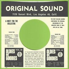 ORIGINAL SOUND REPRODUCTION RECORD COMPANY SLEEVES - (pack of 10)