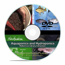 Aquaponics Hydroponics Soilless Gardening Fish Culture Aquaculture Guides CD V66