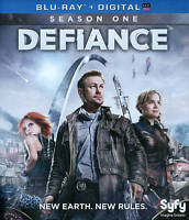 Defiance: Season One  (Blu-rays w/Slipcover) Digital Expired Played Once Mint C