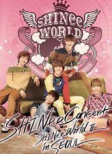 K-POP SHINEE The 2nd CONCERT Album [SHINee WORLD Ⅱ in Seoul] 2CD + Photobook