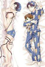 Anime Dakimakura Attack on Titan Sleepwear Levi Hugging Body Pillow Case Cover