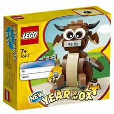 Lego Chinese Traditional Festivals 40417 Year of the Ox (New & Sealed, in hand)