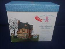 Dept 56 Collectible Dickens Village Series Mrs. Brimm's Tea Room 2001 #58487