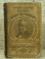 antique old school book George Holmes professor UVA Holmes Second Reader 1870