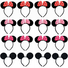 1X Fancy Minnie Mouse Bow Mickey Mouse Ears Headband Ears Disney Costume Dress