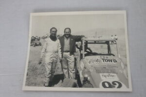 Gerry McLees Autograph Vintage Racing Photo Signed 1960s Horny Tow'd Allison