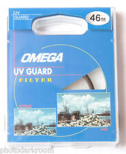 46mm UV Guard - Photo Filter - Protect Lens - Omega 1676 - Japan - NEW F12