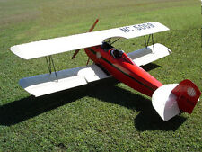 Giant Scale Fleet Biplane Plans and Templates 108ws