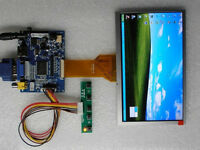 HDMI+VGA+2AV LCD controller Board + 7 Inch 800x480 AT070TN93 IPS LCD Panel