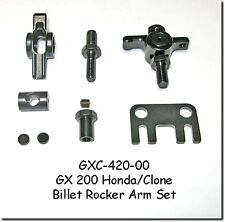 GO KART RACING CLONE HONDA GX200 BILLET ROCKER ARM SET ADJUSTABLE PUSHROD GUIDE