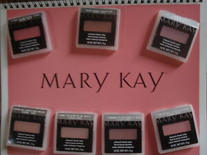 MARY KAY MINERAL CHEEK COLOR LOT OF 1 **CHERRY BLOSSOM** PERFECT FREE BRUSH,BNIP