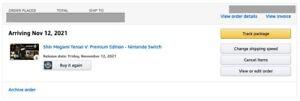 Shin Megami Tensei V: Premium Edition-Nintendo's Switch *AMAZON PREORDER*