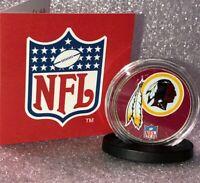 Washington Redskins Official NFL JFK United States Uncirculated Half Dollar 50c