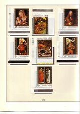 UNGARN: 1979-1982 komplett auf Lindner-Vordruck-Blätter, postfrisch + gestempelt