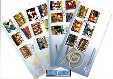 Greece. GREEK DANCES Complete set Year 2002, Zeibekikos Pyrichios, 4 Greek FDC's