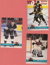 1991-92 Stadium Club Hockey lot / card #'s 151-200 /  Mario Lemieux, Hextall etc