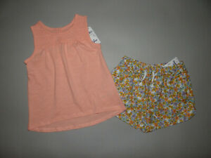 NWT, Toddler girl clothes, 5T, OSHKOSH 2 piece short set/  ~CLEARANCE SALE~