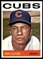 1964 Topps Don Elston Chicago Cubs #111