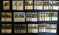 MTG Modern White Blink Goats Deck Kithkin Mage Ajani Anthem Box Sleeves Magic
