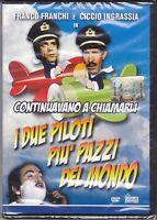 Dvd FRANCO FRANCHI e CICCIO INGRASSIA ♦ I DUE PILOTI PIU' PAZZI DEL MONDO 1972