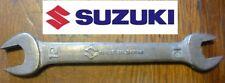 rare CLE moto SUZUKI 10 12 vintage collector trousse à outils 100% ORIGINAL key
