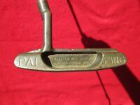 """PING PAL Putter RH 35"""" Heel-Toe Balance Karsten 85020 Arizona U.S. Pat 4.527.799"""