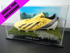 ✺Signed✺ MARK ELLA Football Boot PROOF COA Wallabies Waratahs 2018 Jersey