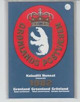 Grönland - Briefmarken-Jahresmappe 1982, postfrisch (versiegelt) - bitte ansehen