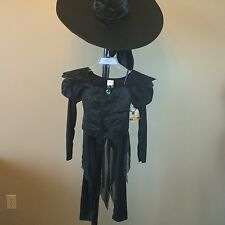 New Disney Store OZ the Great & Powerful Wicked Witch of West Costume & Hat 7/8