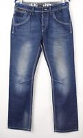 JACK & JONES Hommes Jeans Jambe Droite Taille W31 L32 BDZ134