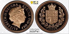 2002 Gold Half Sovereign Proof PR70 PCGS Great Britain 1/2 Royal Mint Sov
