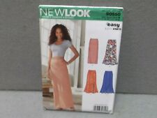 NEW LOOK PATTERN S0550 Year 2014 Miss Size 8-20 SKIRT 4 STYLES STRETCH KNITS