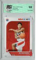 Rui Hachimura 2019 NBA Hoops #206 Gem Mint Rookie Card PGI 10