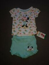 Primark Baby Girl Minnie Mouse Outfit Size 6-9 Months