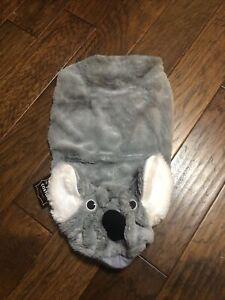 Koala Bear Hoodie Dog Pet Halloween Costume Size Large Soft & Plush NWT