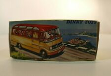 Boite reproduction COPY  Dinky Toys F n° 541 Petit Autocar Mercedes Benz bus
