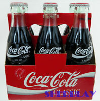 Classic Coca Cola Coke 1986 Unopened Six Pack W/Carrier Collectible - Nice!
