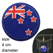 New Zealand flag iron on patch Kiwi international round NZ flags iron-on patches