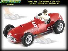Scalextric C2928A Tin Plate Limited Edition 1951 Ferrari 375 F1 slot car