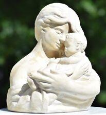 WILLIAM MAROTTA 1969 MOTHER AND CHILD/BABY SCULPTURE STATUE WESTERN MID CENTURY