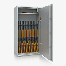 Waffenschrank Wertschutzschrank Tresor EN 1143-1 Klasse N/0, 13 Waffenhalter