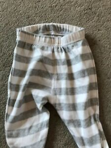 Baby Boys Striped PJ Bottoms. George. Age 0-3 Months.